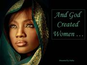 And god created Women