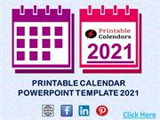 Printable Calendar 2021 Templates and Design