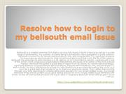 Bellsouth email login