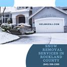 Snow Removal Services in Rockland County