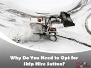 Why Do You Need to Opt for Skip Hire Sutton?