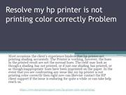 Resolve my hp printer is not printing color