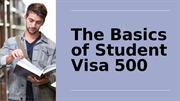 Student Subclass 500 - How To Apply For Visa Application