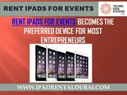IPad Rental Dubai | Rent IPads for Events in Dubai