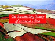 Breathtaking Beauty of Lexiaguo, China