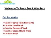 Cash For Damaged Truck Newcastle