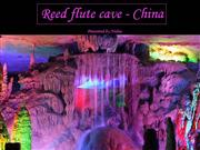 beauty of Reed flute cave-China