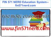 FIN 571 NERD Education System--fin571nerd.com