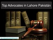 Get Best & Competent Advocates in Lahore Pakistan For Success In Your