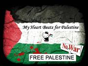 My heart beats for Palestine