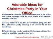 Adorable Ideas for Christmas Party In Your Office