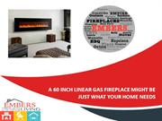 A 60 Inch Linear Gas Fireplace Might Be Just What Your Home Needs