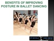 Benefits of Improving Posture in Ballet Dancing