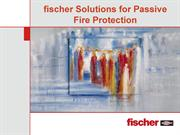 fischer Solutions for Passive Fire Protection