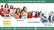Different Types of Canada Visa Services for People Across the Globe