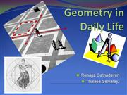 use of geometery in life