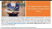 Buy English Books to Robust your English through Online Stores