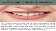 Facial Aesthetic Surgery in Tonbridge
