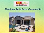 Aluminum Patio Covers Sacramento