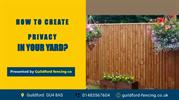 How to Create Privacy in Your Yard?