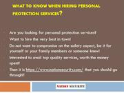 Nation Security- Best Security Services Provider
