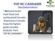 Top bc cannabis CITIES