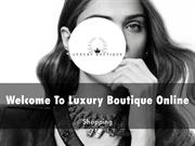Luxury Boutique Online Presentation
