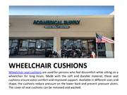 Wheelchair Cushions – Comfortable seating for wheelchair | ACG Medical