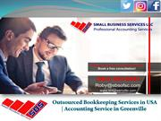 Small Business Accounting Services By SBSGreenville