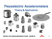 theory and application of piezoelectric accelerome