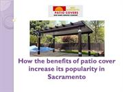 Patio Covers Sacramento and Roseville