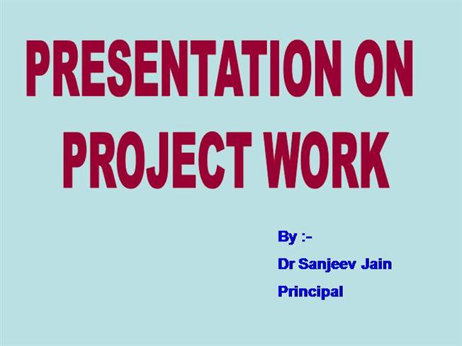 Project Work in Commerce |authorSTREAM