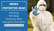 Face Mask, Surgical Mask and PPE kits by Enviro Protective Gear