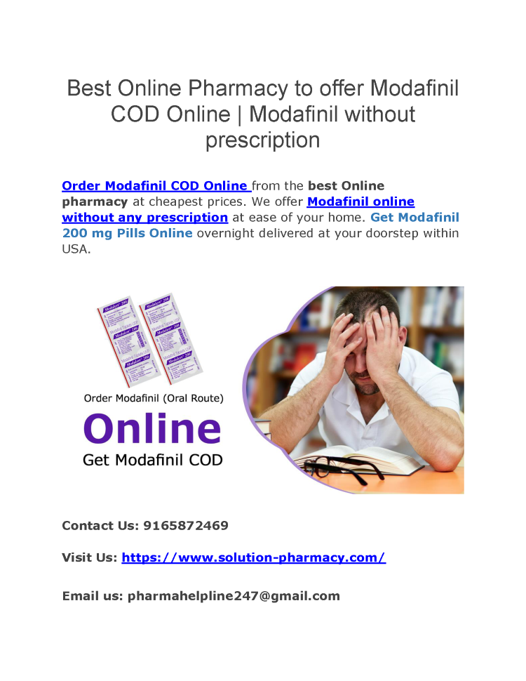 Canadian Pharmacy Modafinil