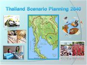 Thailand Scenario Planning 2040