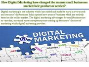 How Digital Marketing have changed the manner small busin