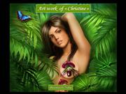 Sensual art of Christine