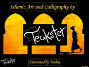 Teakster islamic art