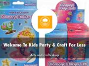 Kids Party & Craft For Less Presentation