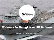 Thoughts on UK Defence Presentation