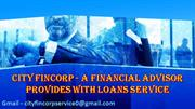 City Fincorp Service Provide Fast Loans, Affordable