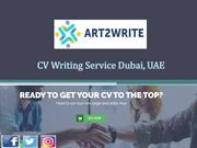 Professional CV Writing Services Dubai by Top CV Writers - Art2Write