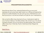 Prescription Drug Benefits