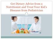 Get Dietary Advice from a Nutritionist and Treat