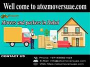 Movers and packers in Dubai | Contact A to Z Movers Dubai