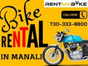 Bike Rent in Manali