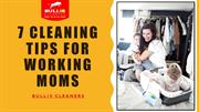 Seven house cleaning tips for working Moms