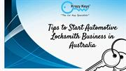 Effective Tips To Start a Successful Locksmith Business | Krazy Keys