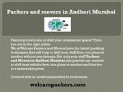 Packers and movers in Andheri Mumbai  Movers and packers in Andheri Mu