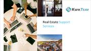 Kwik Team Support - Real Estate Support Services